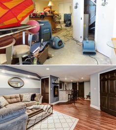 From a garage-turned-master-suite to a basement upgrade, check out these customer home makeovers!