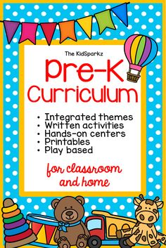 PreK Curriculum Themes Collection