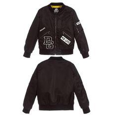 Boys Bomber Reversible Jacket