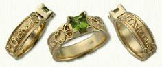Custom Celtic Engagement Rings - custom celtic engagement rings w/ gemstones, diamonds @ best prices!http://www.custom-celtic.com/celt-custom.htm