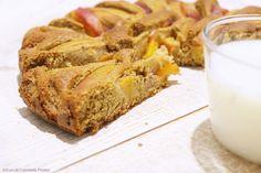 Cuor di Ciambella: Torta rustica di Pesche e Grano Saraceno