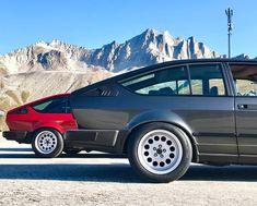 Alfa Romeo Gtv6, Alfa Gtv, Bmw E9, Maserati, Old School, Automobile, Vehicles, Wheels, Garage