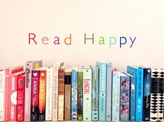Read what you want. Read what makes you happy. That's my goal this year