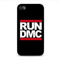 Run Dmc Logo iPhone 4, 4s Case