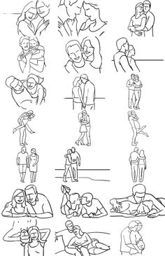 Wedding Poses Posing Ideas for Couples More - Posing Guide for Photographing Couples: Couple photography is about connection, interaction and feelings between two people. Here are some poses to help you capture that. Pose Portrait, Portrait Photography Poses, Photography Lessons, Creative Photography, Digital Photography, Art Photography, Wedding Photography, Photography Couples, Landscape Photography