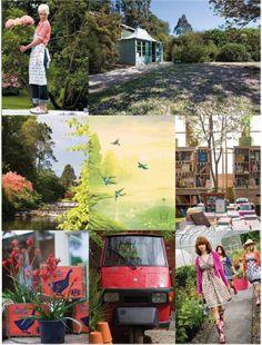 Avoca's In The Garden Of Ireland, Gardens, Garden Centre, Mount Usher Garden, Wicklow
