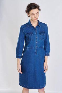 Marion Denim Shirt Dress