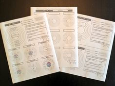 Free #atoms worksheets from NewSullivanPrep.com #chemistry