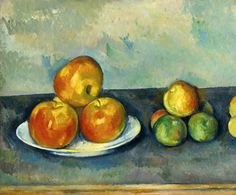 Paul Cézanne (1839-1906) Apples 1889-1890. Oil on canvas. 38,5 x 46 cm. Private collection.