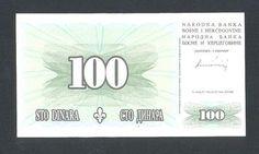 BOSNIA * 100 Dinara 15.8.1994 UNC * VERY RARE IN UNC !http://www.ebay.com/itm/BOSNIA-100-Dinara-15-8-1994-UNC-VERY-RARE-UNC-/160990065382?pt=Paper_Money=item257bc172e6