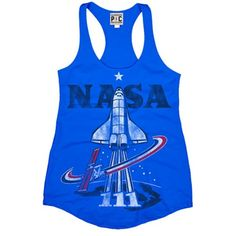 PalmerCash Tees cool collection of vintage t-shirts and licensed designs weave a story that brings you closer to that feeling of freedom that is the spirit behind PalmerCash. Johnson Space Center, Vintage Tees, Nasa, Funny Tshirts, Athletic Tank Tops, Graphic Tees, Patches, T Shirt, Collection