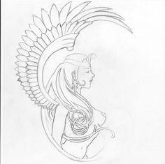 sphinx line art | Stats: 1,820 views / 4 comments