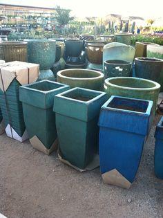 New Pots at Green Things!