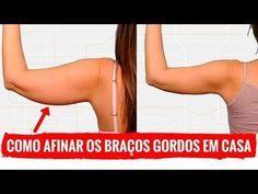 AFINAR OS BRAÇOS RAPIDINHO COM 3 EXERCICIOS SIMPLES. Como Perder Gordura e Emagrecer o Braço Em Casa - YouTube