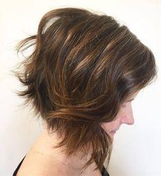 49 Chic Short Bob Hairstyles   Haircuts for Women in 2019. Acconciature Bob  ImpilatiTagli Di Capelli Corti ... b029d9ae6ea9