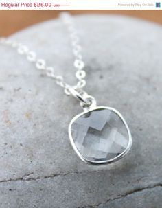 Hey, I found this really awesome Etsy listing at https://www.etsy.com/listing/121272006/50-off-sale-silver-crystal-necklace