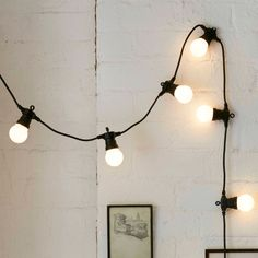 Ikea String Lights Entrancing Ikea  Svartrå Led Light Chain With 12 Lights  Gives A Soft Mood Design Ideas