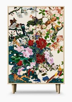 Ex-Display Save Empress Wu Large Cabinet Upcycled Furniture, Furniture Projects, Furniture Makeover, Furniture Decor, Painted Furniture, Furniture Design, Patterned Furniture, Modular Furniture, Modern Buffet