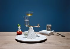 """A Balanced Diet"" Food Styling by Set Designer Elena Mora 
