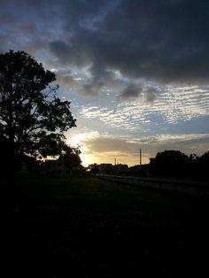 Tropical, sun rise