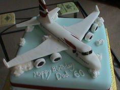 Aeroplane Cake (specifically, BA Aeroplane Cake!)  www.restorationcake.co.uk