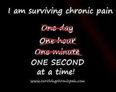 Surviving chronic pain