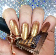 Cinnamon Dolce Latte | A Pretty Fierce Indie Nail Polish by Sleeping Medusa #Nail #Nails
