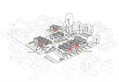 Arkitektprosjekt Skoleveien - Skaara Arkitekter AS Architects, Presentation, Projects, Cards, Log Projects, Building Homes, Maps, Playing Cards, Architecture