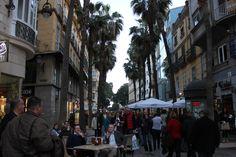 Puerta del Mar desde la Plaza Féliz Sáenz