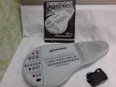 Suzuki Omnichord OM-84 system 2 + Adapter + user manual works but NEEDS REPAIRS #Suzuki