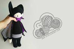 Vlad Vampiro muñeco de ganchillo amigurumi hecho con el patrón de lalylala, vampire crochet, amigurumi, amigurumis