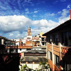 Una vista espectacular desde #HotelCatedral #PuertoVallarta