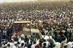 John Paul II to the Nigerian young people