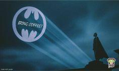 How #DC fans want their coffee.. #batman #coffee #Faagio
