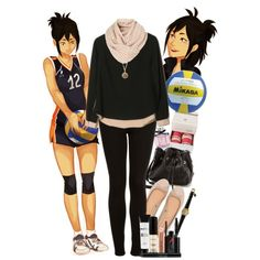 Fem!Yamaguchi | Haikyuu!! by pecio-chan on Polyvore featuring Topshop, Pull&Bear, Lauren Merkin, Forever 21, Gucci, Smashbox, Fauchon, Mikasa, genderbend and haikyuu Casual Cosplay, Cosplay Outfits, Edgy Outfits, Anime Outfits, Pretty Outfits, Cool Outfits, Fashion Outfits, Women's Fashion, Anime Inspired Outfits