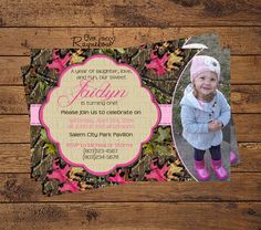 Camo Birthday Invitation by RaynebowShoppe on Etsy Camo Birthday, 8th Birthday, Birthday Parties, Custom Birthday Invitations, All Design, Rsvp, Laughter, Party Ideas, Fun