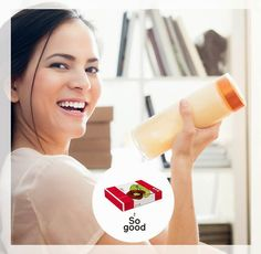 "Lo sapete che il RINGANA PACK energy è un frullato ""to go""? Aggiungete un po'… Glass Of Milk, Drinks, Drinking, Beverages, Drink, Beverage"