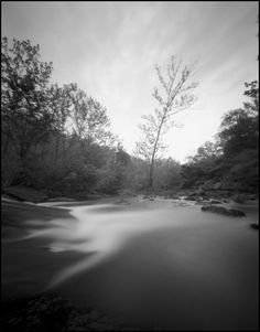 Ghostly waters in this #pinhole image