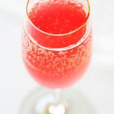 Rosemary Lemon Rhubarb Spritzer