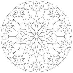 Mandala-Ausmalbild Nr. 99