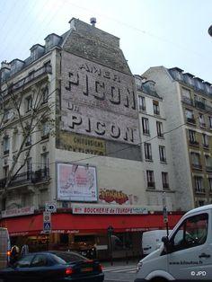 Les murs peints s'affichent: novembre 2008 Commercial Signs, Old Pub, Old Commercials, Old Wall, Le Web, Illustrations, Rue, Signage, Street Art