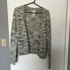 Black and white cardigan This is perfect for the cold days, looks amazing on. Never worn only tried on. Mossimo Supply Co Sweaters Cardigans