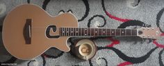 "Cc Guitar C Hole Series ""Cappuccino"" Acoustic-Electric."