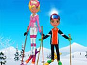 Cool Skiing Outfits    Chums!!!!! Amy and his brother were spending their winter vacations at the Mount Kilimanjaro. They both love adventure, so they planned to go for skiing. But they both were in a confusion to select the perfect clothing. Will you guys help them to select the stylish and warm outfit? Enjoy dressing. Use mouse to interact. Use mouse to interact.  http://ezarcade.net/games/cool-skiing-outfits/