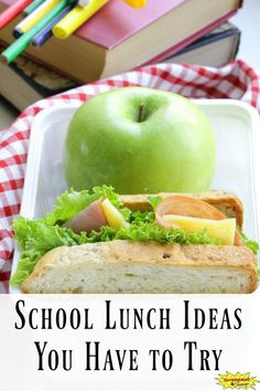 School Lunch Ideas You Have to Try