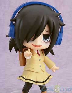 "Desde la serie de anime que a muchos les encanta ""Watashi ga motenai no wa dou Kangaetemo Omaera ga Warui! llega a Zaitama un Nendoroid del personaje principal de la serie, Tomoko Kuroki!"