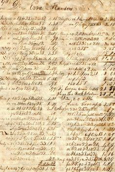 1815 Ledger.