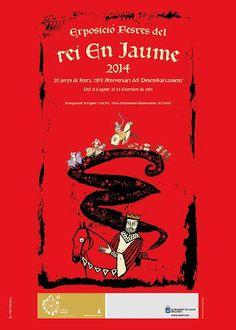 Exposició 20 anys de Festes del rei En Jaume. 785è aniversari del Desembarcament.