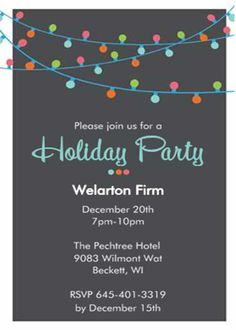cool Tips Easy to Create Holiday Party Invitation Check more at http://www.egreeting-ecards.com/2017/01/08/tips-easy-to-create-holiday-party-invitation/