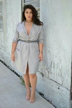 Moda Plus-size - Nadia aboulhosn